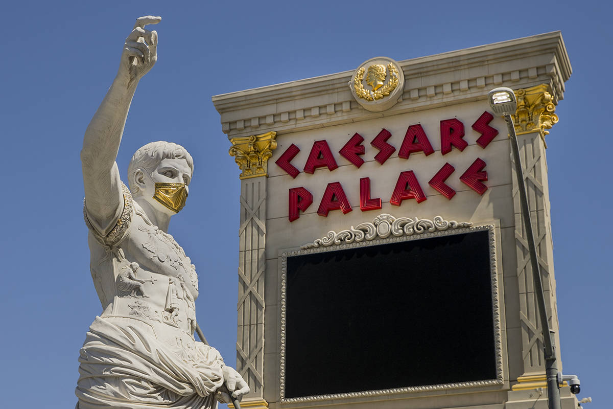 Caesars requiring staff to get tested for coronavirus amid uptick in county