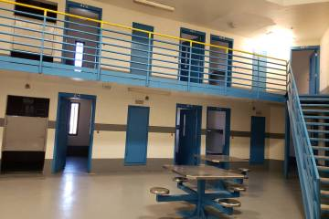 Tonopah jail is seen in a photo from 2019. (Pahrump Valley Times)