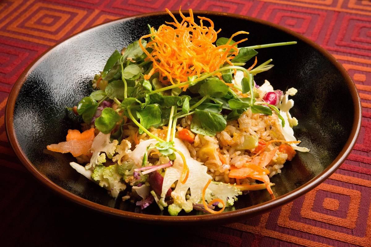 Twenty-vegetable fried rice at China Poblano. (China Poblano)