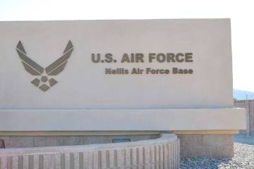 Nellis Air Force Base (Las Vegas Review-Journal)