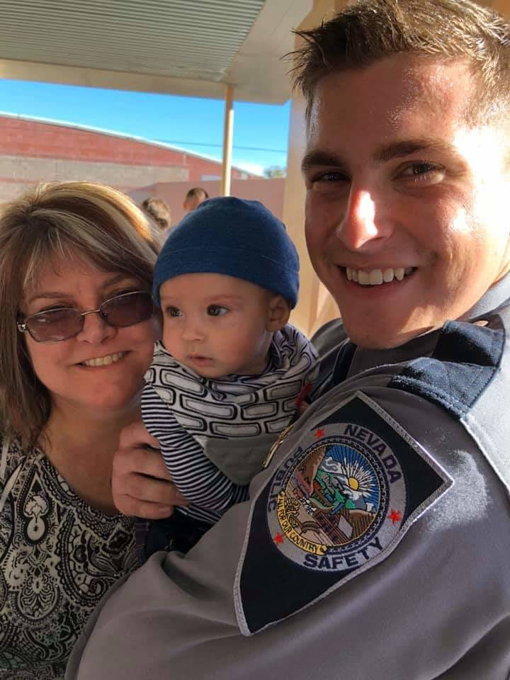 Vianna Thompson, 52, in a recent photo with her son, Josh, and his godson. Thompson, an Army ve ...