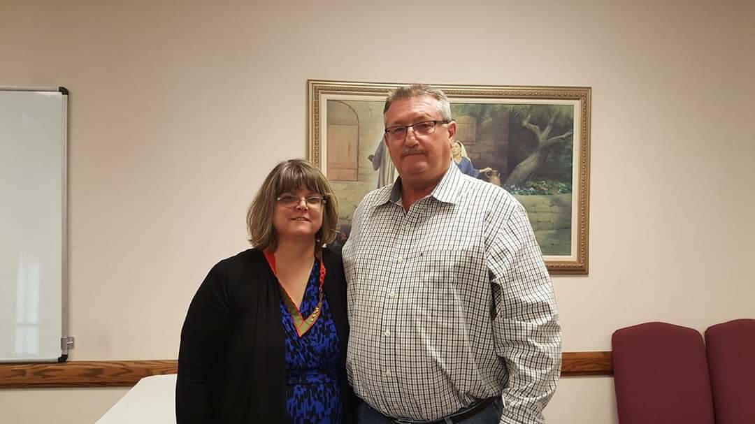 A recent photo of Vianna Thompson, 52, and her husband, Bob. Thompson, an Army veteran and nurs ...