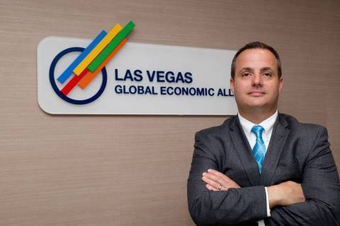 Jared Smith, chief operating officer at the Las Vegas Global Economic Alliance. (Review-Journal ...