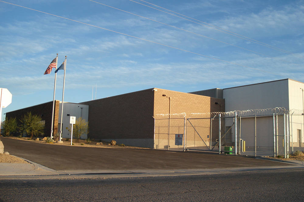 The Nye County Detention Center in Pahrump. (Special to the Pahrump Valley Times)
