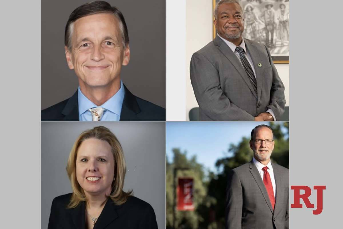 Clockwise from left, Kenneth Furton, Keith Whitfield, Karla Leeper and Chris Heavey. (Board of ...