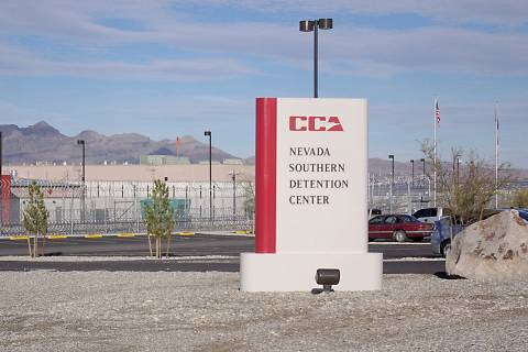 Southern Nevada Detention Center (Las Vegas Review-Journal/File)