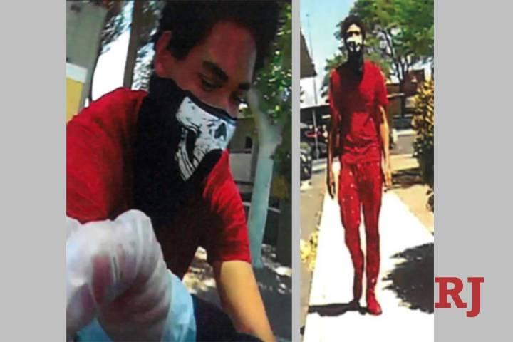 LasVegaspolicelooking for several suspectsinvolvedinastringofrobberiestarge ...