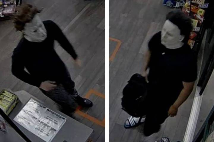 Police are looking for two men in connection to an armed robbery that occurred Monday, July 13, ...