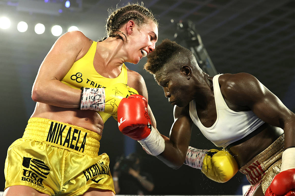 Top Rank Boxing S Mikaela Mayer Rolls To Unanimous Decision Over Helen Joseph Las Vegas Review Journal
