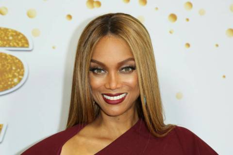"FILE - In this Tuesday, Aug. 21, 2018, file photo, Tyra Banks attends the ""America's Got T ..."