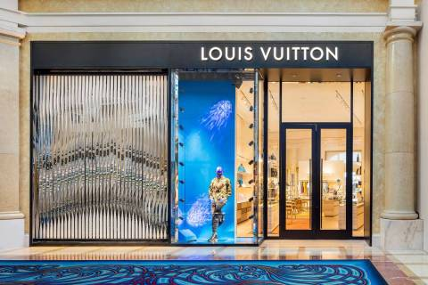 The new men's store is a continuation of the women's store within Bellagio as it has the sa ...