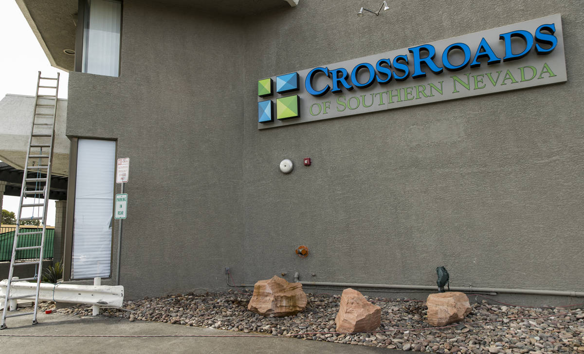 CrossRoads of Southern Nevada has beds reserved for COVID-19 patients under the work of CEO Dav ...