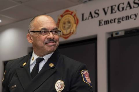 Las Vegas Fire Chief William McDonald has resigned to take the same position in Alameda County ...