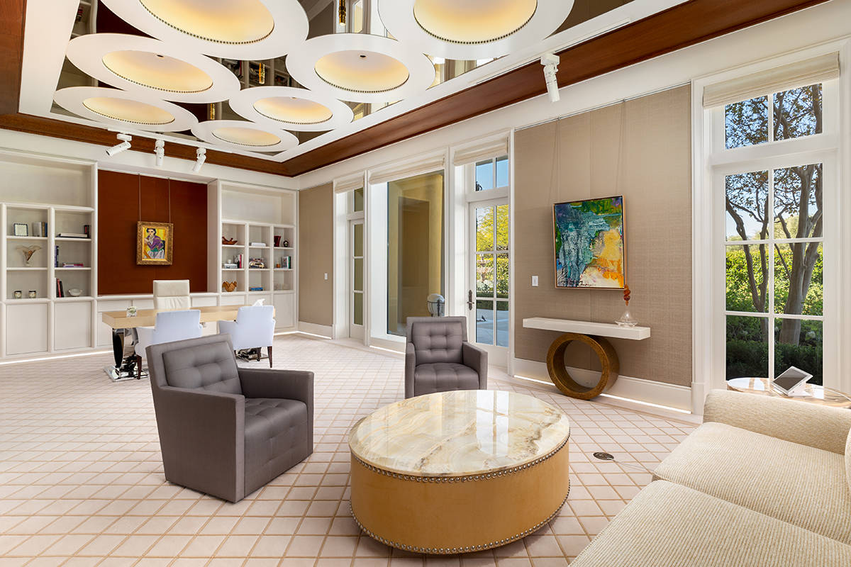 The home was designed to showcase art. (Ivan Sher Group)
