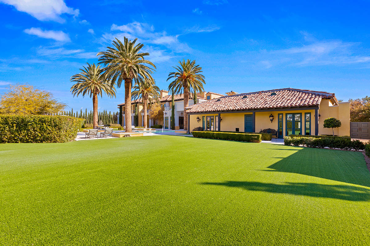 The home is on a 1.5-acre lot. (Ivan Sher Group)