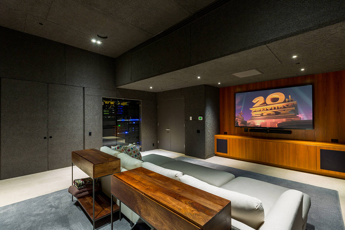 The movie theater. (Ivan Sher Group)