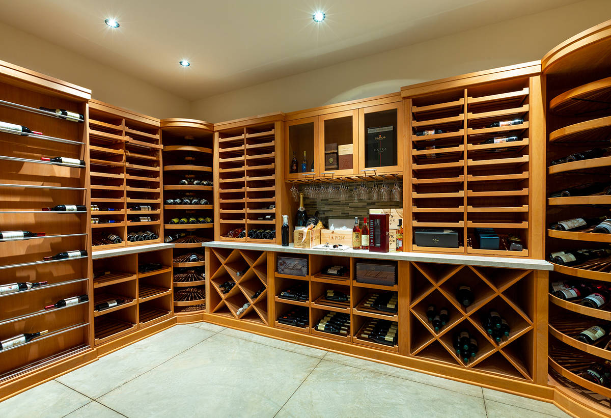 The wine room. (Ivan Sher Group)