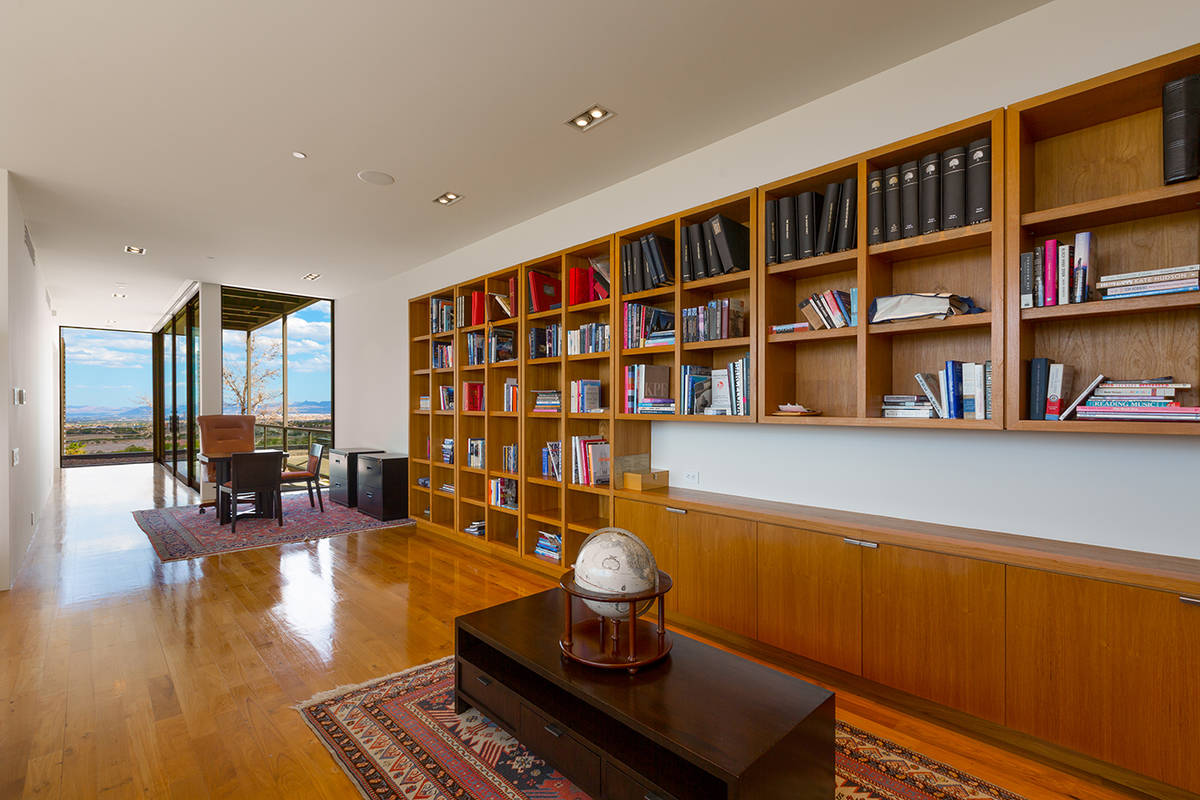 The library. (Ivan Sher Group)