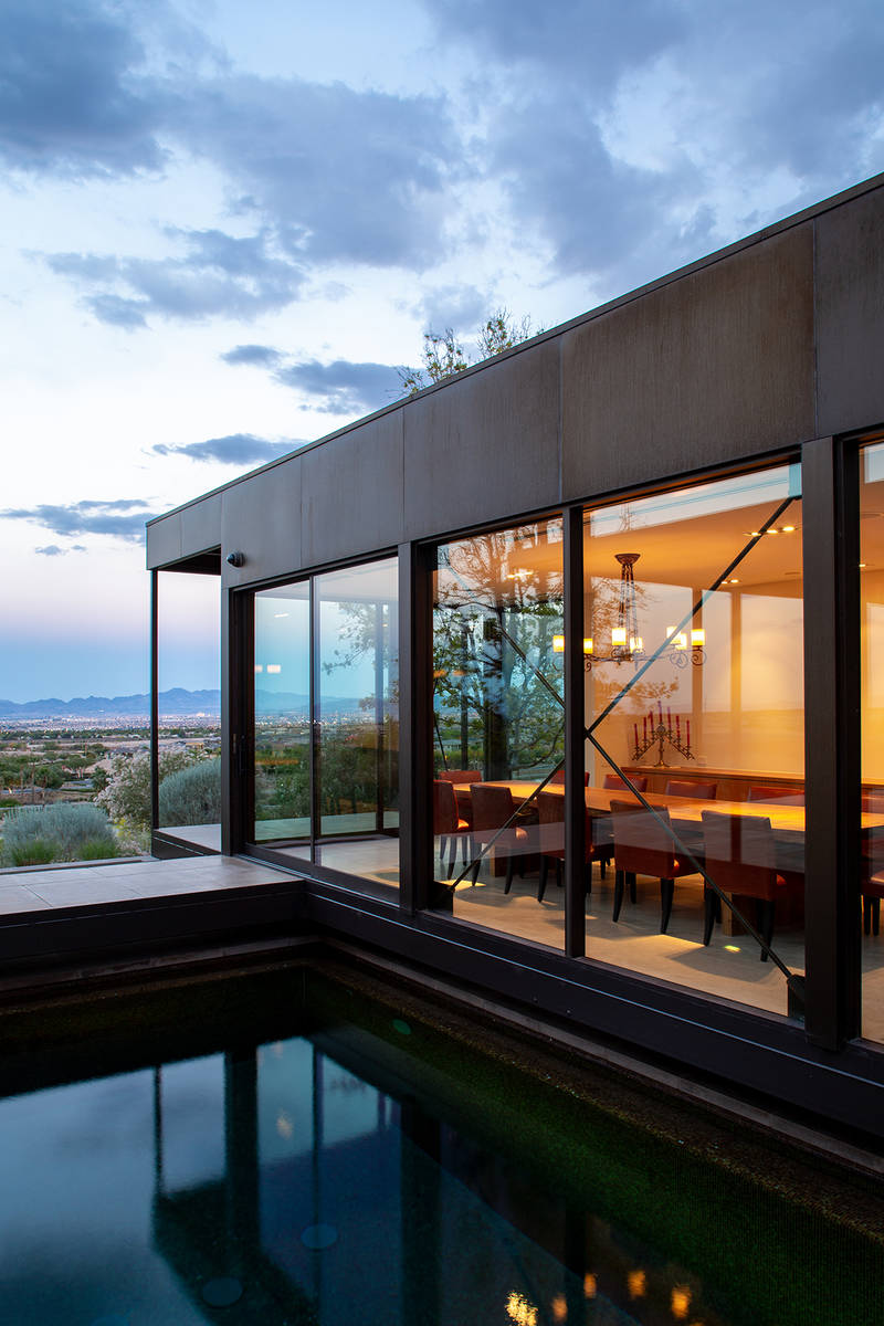 The Summerlin estate was built in 2009 (Ivan Sher Group)