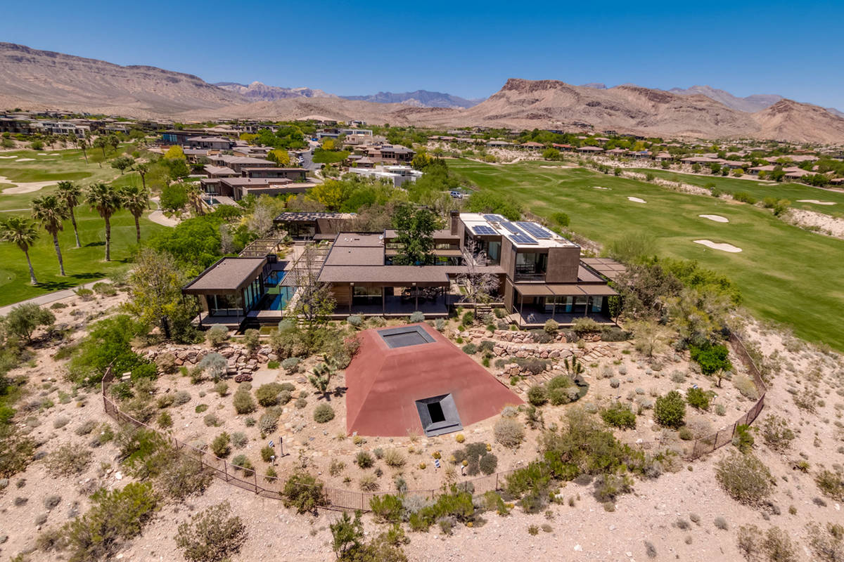 Former MGM Resorts International Chairman and CEO Jim Murren has listed his Summerlin home for ...