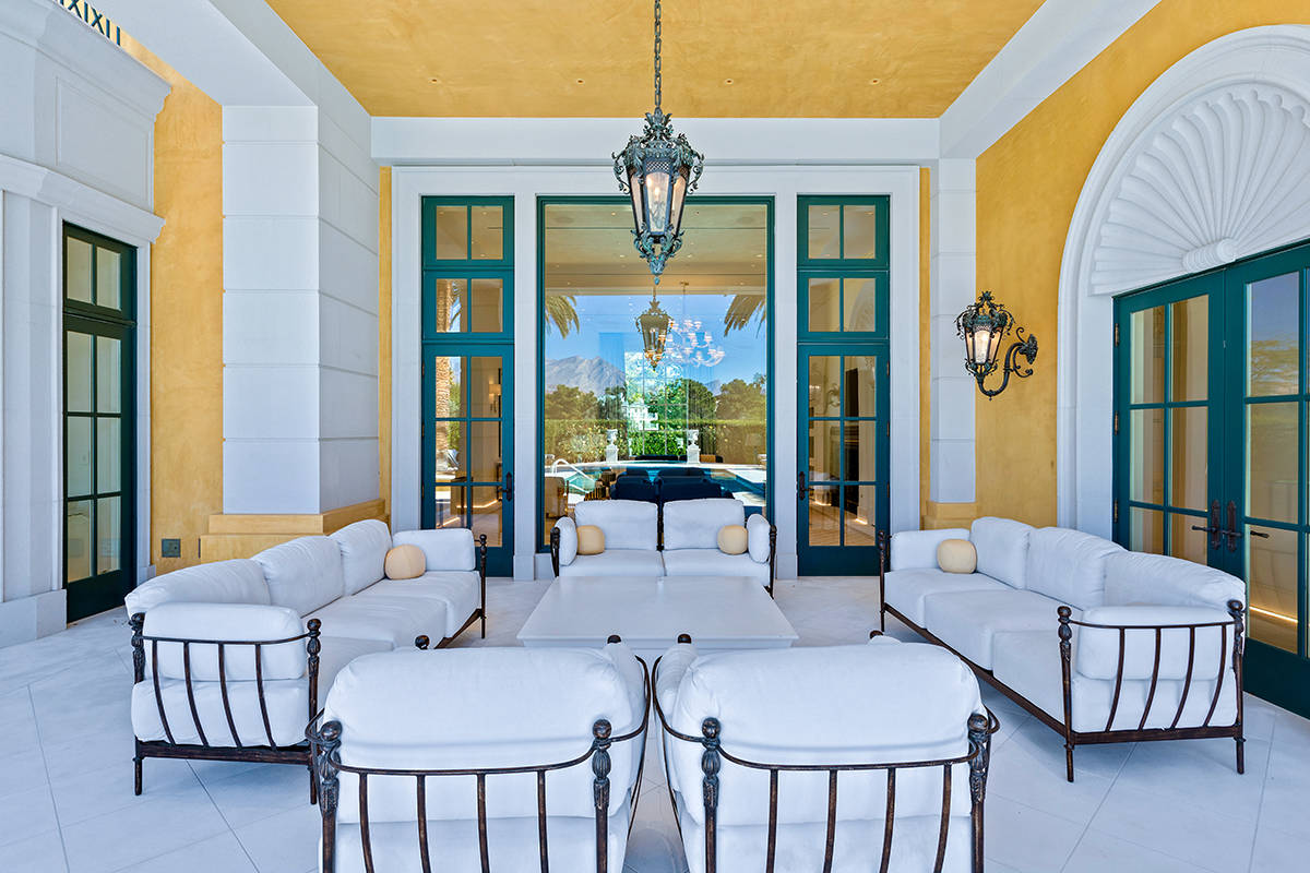 The home at 1717 Enclave has a stately European-Beverly Hills style. It recently went through a ...