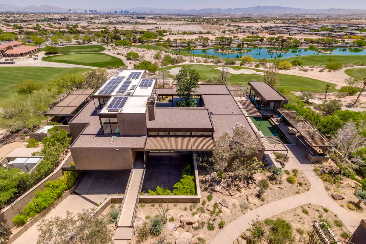 Former gaming executive Jim Murren's home, which is called Skyspace is in The Ridges in Summerl ...