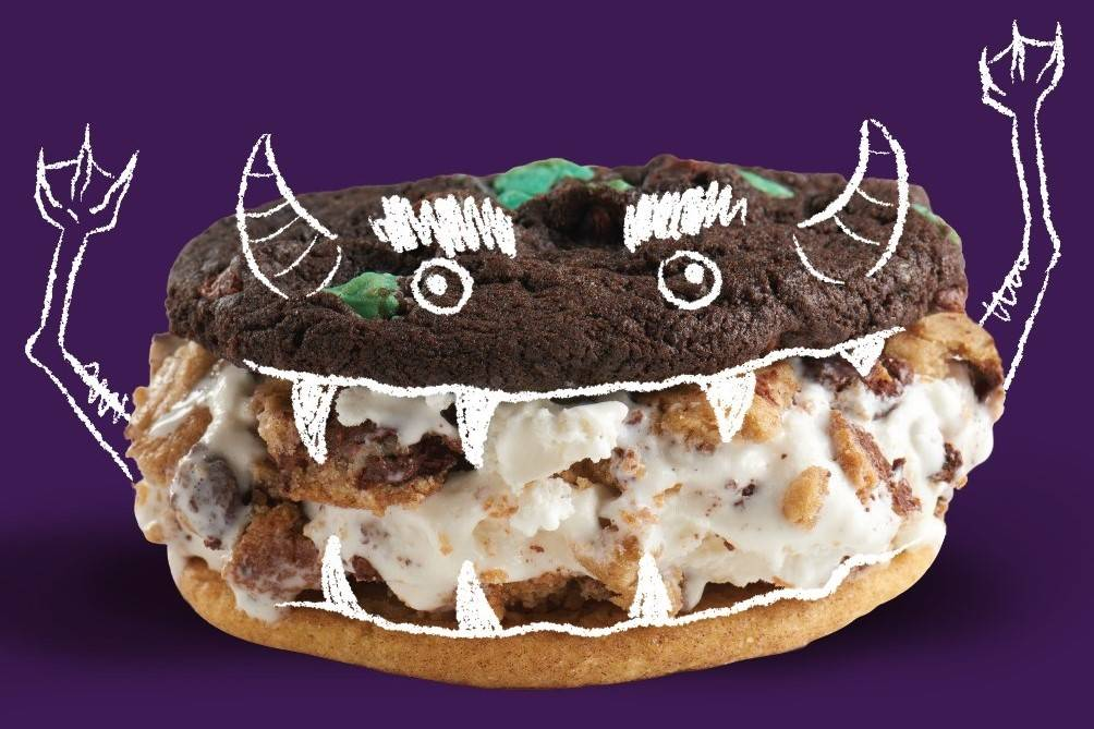 Monster'wich, available at Insomnia Cookies. (Insomnia Cookies)