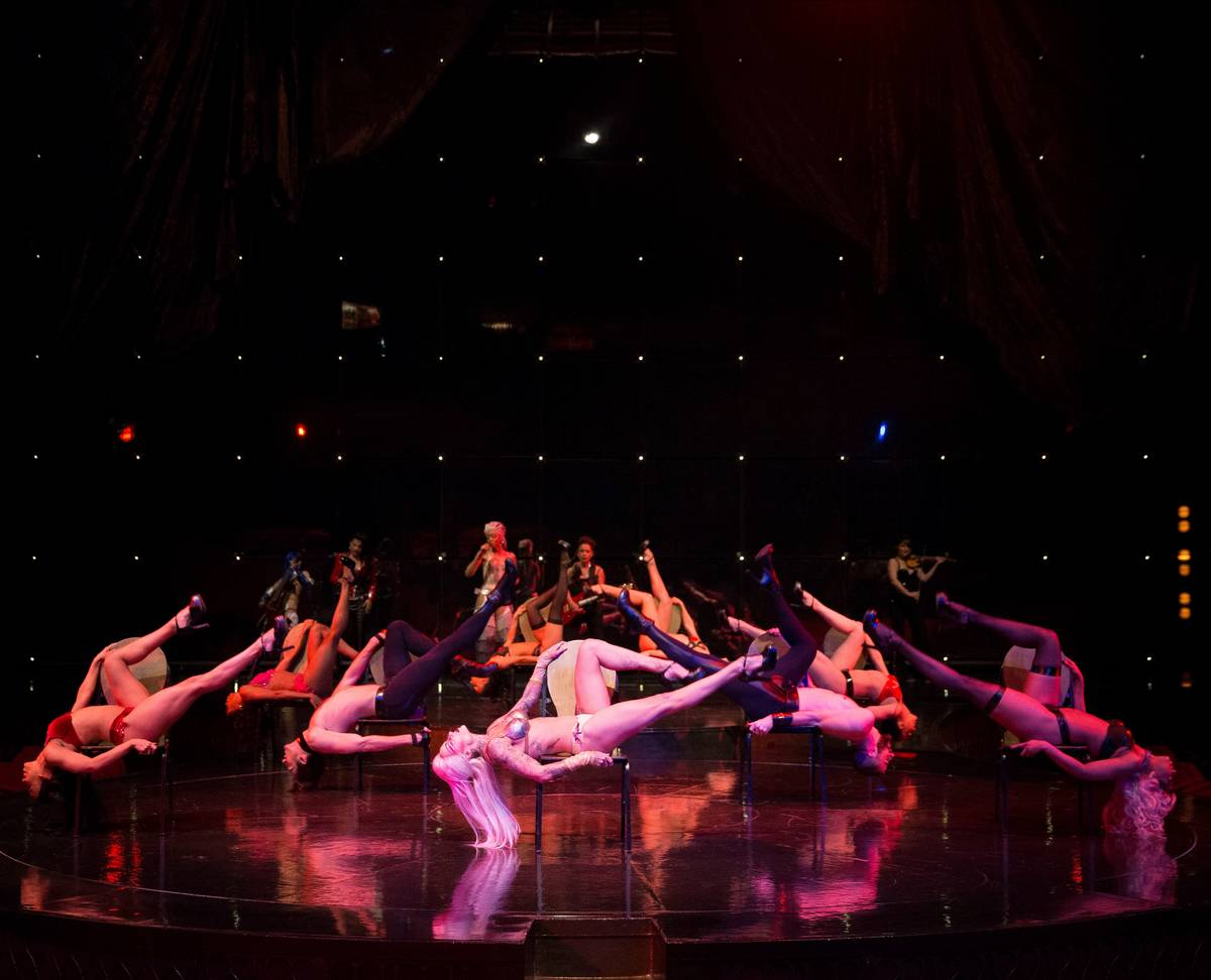 """A scene from the Cirque du Soleil show """"Zumanity"""" at New York-New York. (Eric Jamison)"""