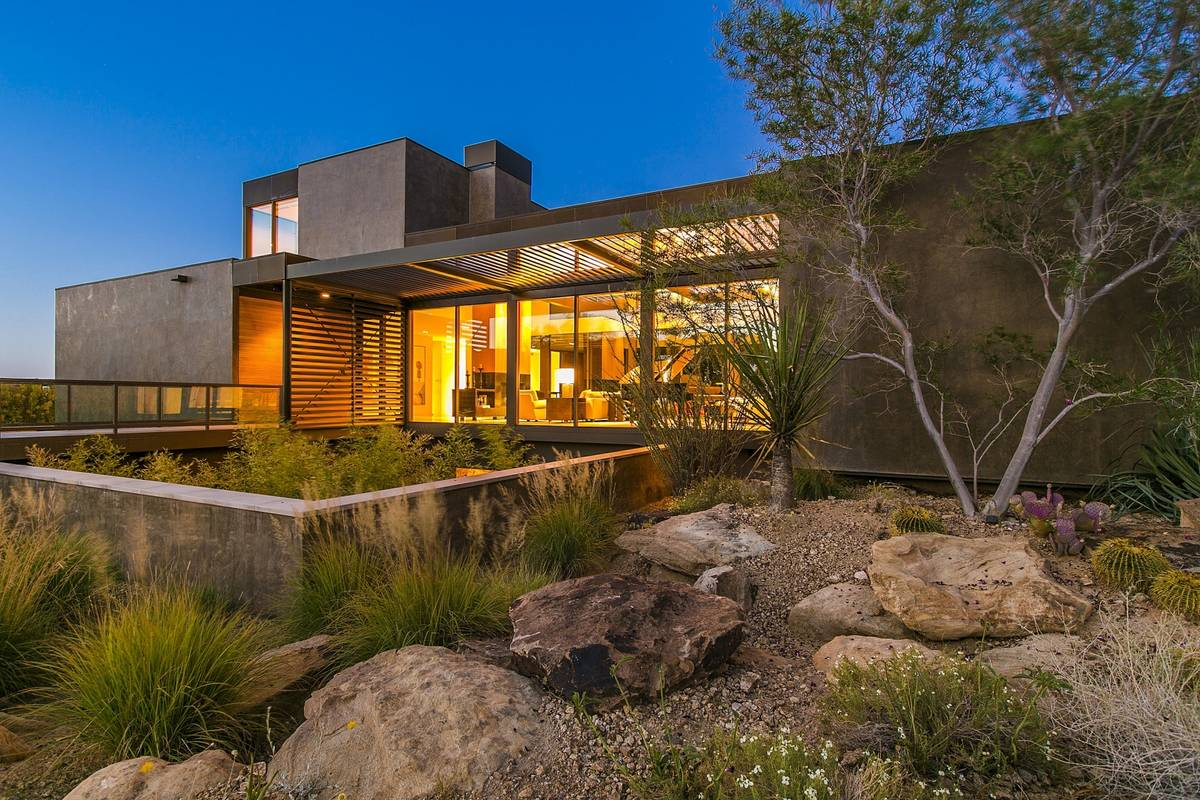 The home at 7 Painted Feather Way was created for the Murrens by world-renowned architecture fi ...