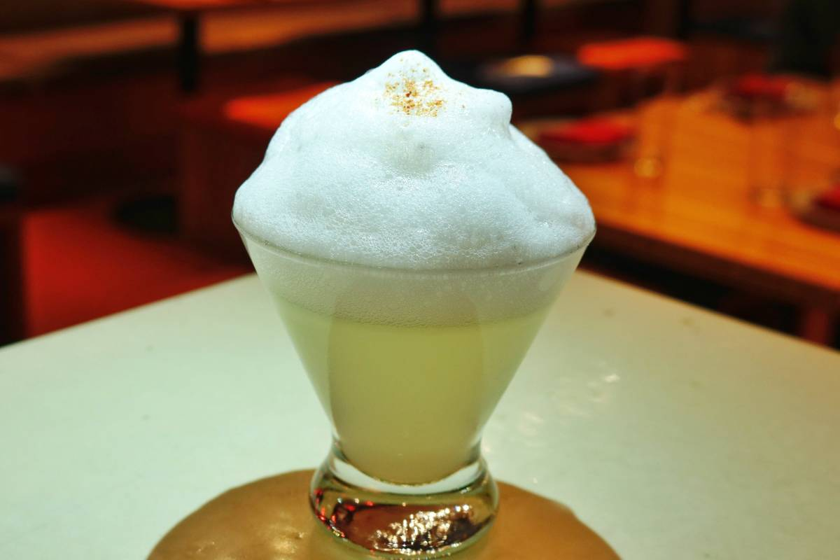 Salt Air Margarita at China Poblano. (China Poblano)