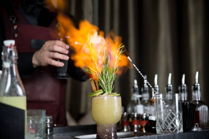 Something May Catch Fire at Clique Bar & Lounge. (Clique Hospitality)