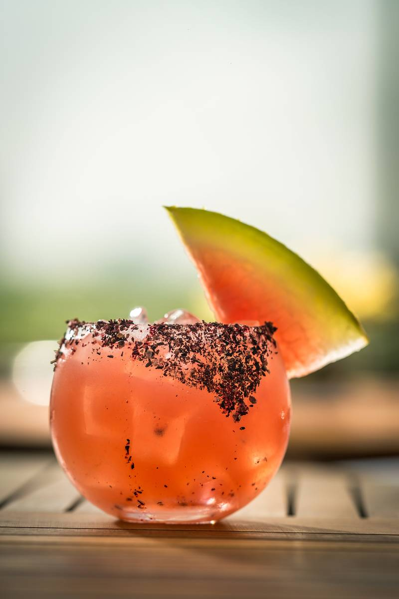 Spiced Watermelon at STK. (STK)