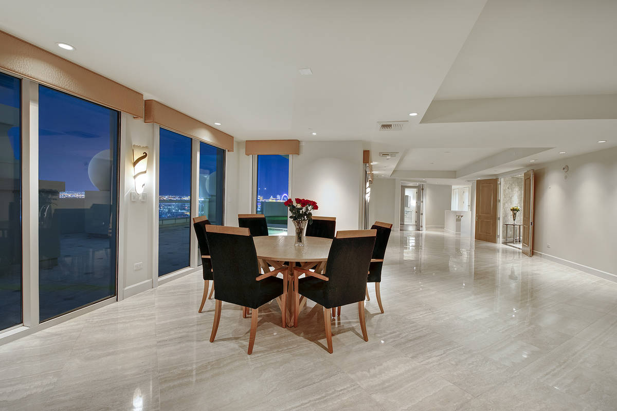 The No. 2 condo sale for the midyear is a Turnberry Place penthouse. It sold for $3.7 million o ...