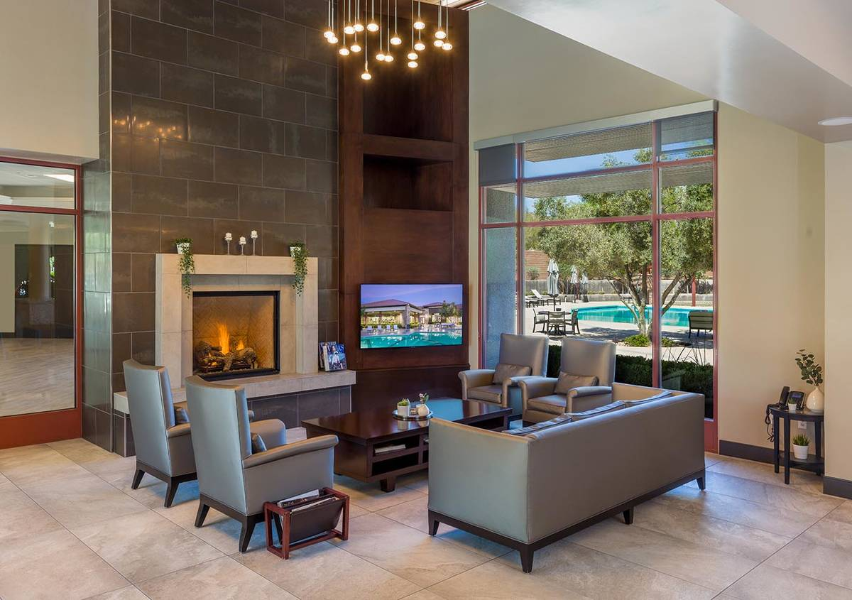 Club Ridges is a fitness facility with resort-style pool, tennis courts, workout rooms and gath ...
