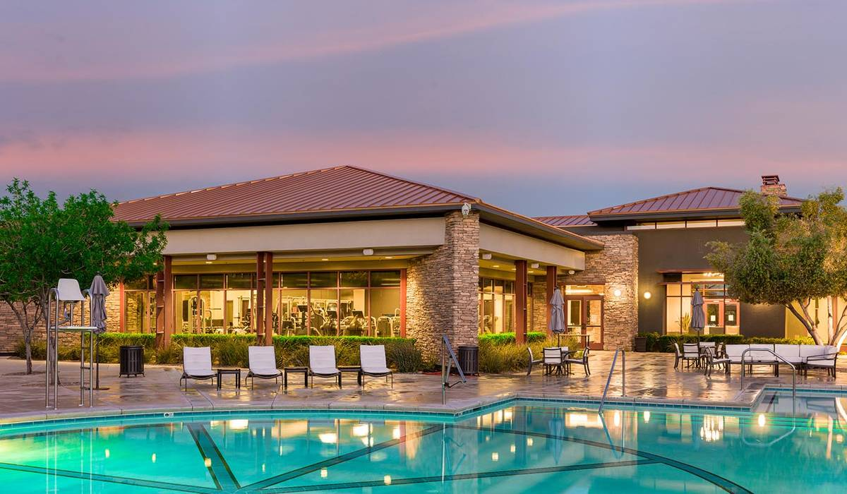 An extensive remodel was recently completed on Club Ridges in Summerlin. (Summerlin)