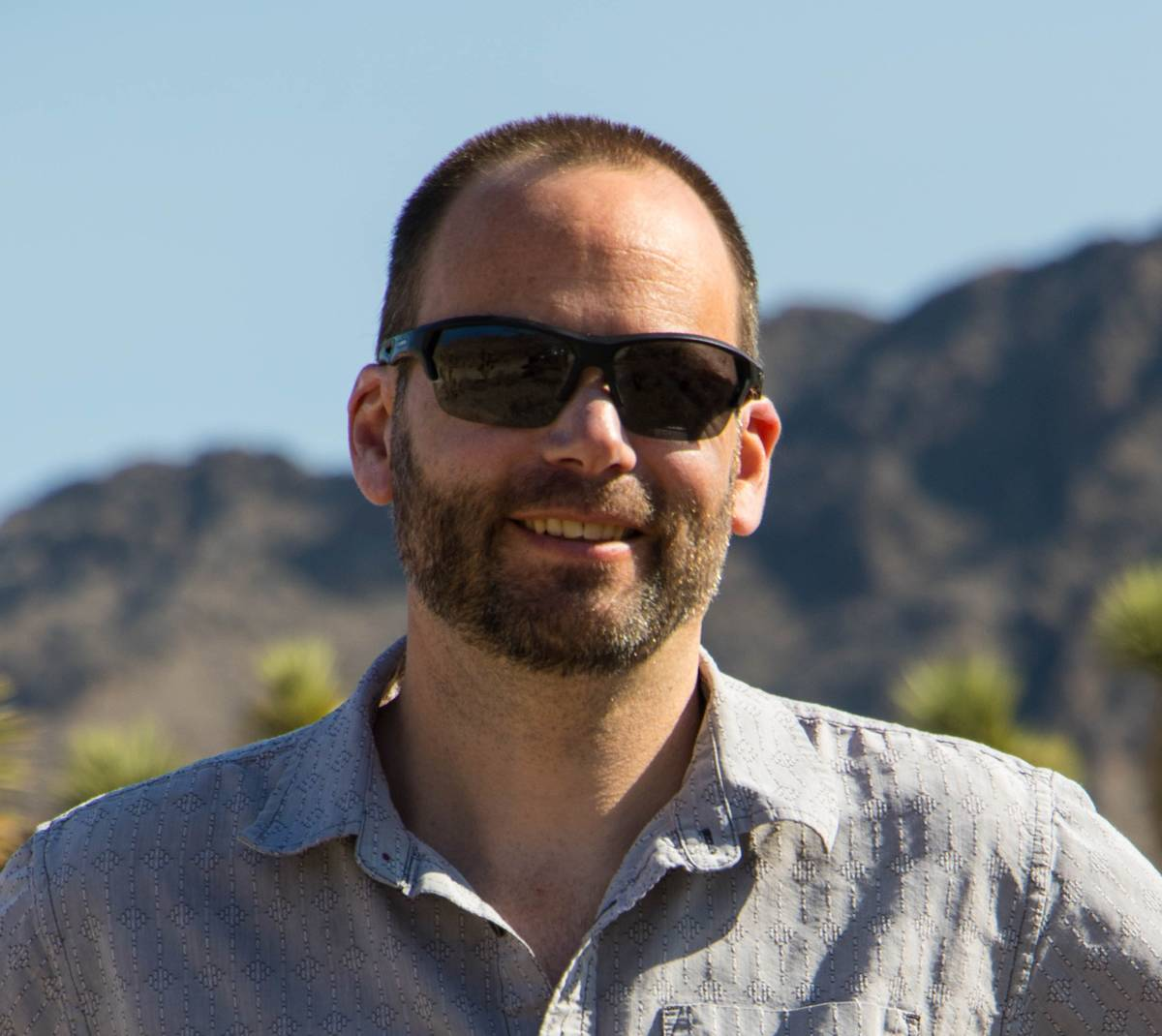 Matthew Lachniet is a UNLV climate scientist and lead researcher on a climate change study. (UNLV)