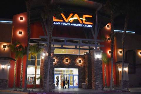 Las Vegas Athletic Club announced it will close its locker rooms and showers, effective Sunday, ...