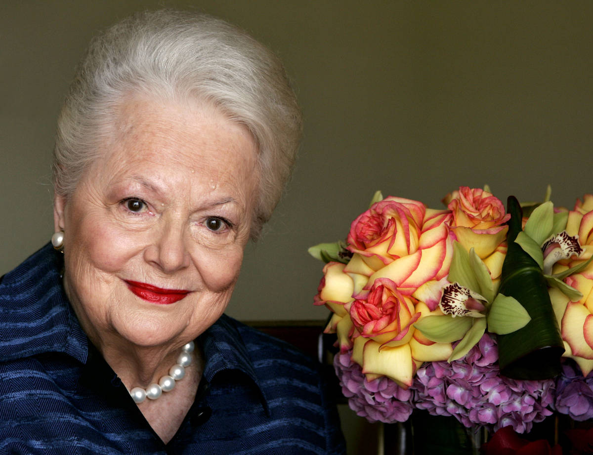 "Olivia de Havilland, who played the doomed Southern belle Melanie in ""Gone With the Wind,"" is s ..."