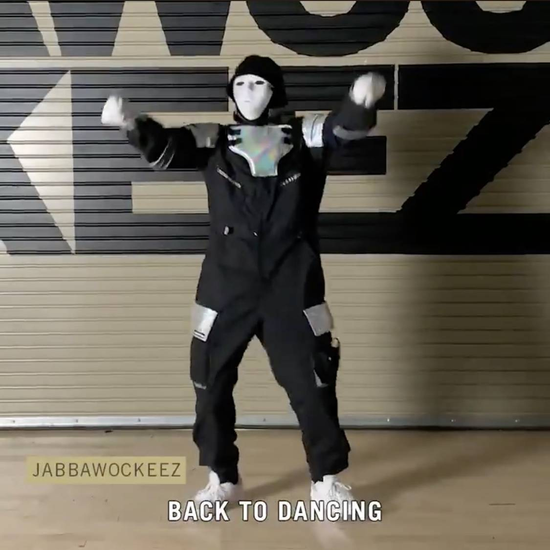A member of the Jabbawockeez is shown in a new social media campaign launched by MGM Resorts In ...