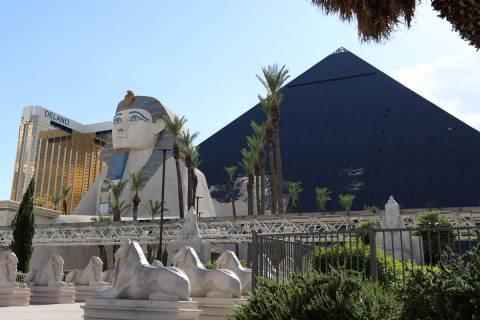 Luxor on the Las Vegas Strip. (Erik Verduzco / Las Vegas Review-Journal) @Erik_Verduzco