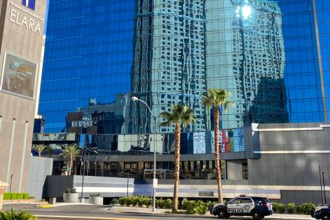 Las Vegas police are investigating the firing of gunshots on the 28th floor of Elara by Hilton ...