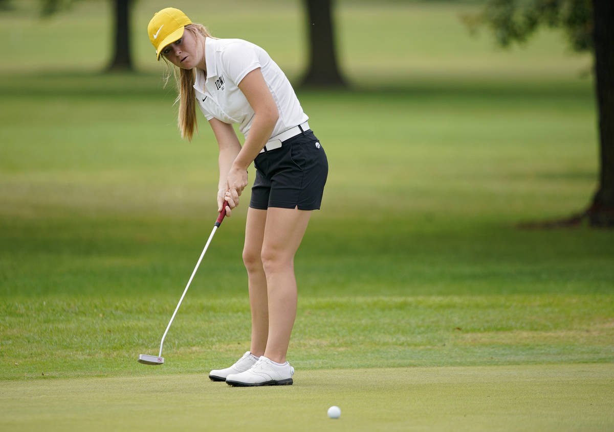 Morgan Goldstein will return to the University of Iowa for her sophomore season this fall after ...