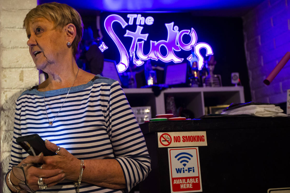 "Joyce Judge talks about The Studios, a ""fluid gender social lifestyle club,"" in Las Vegas on ..."