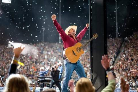 Garth Brooks has a long history of live performances in Las Vegas. (8 Ten, Inc.)