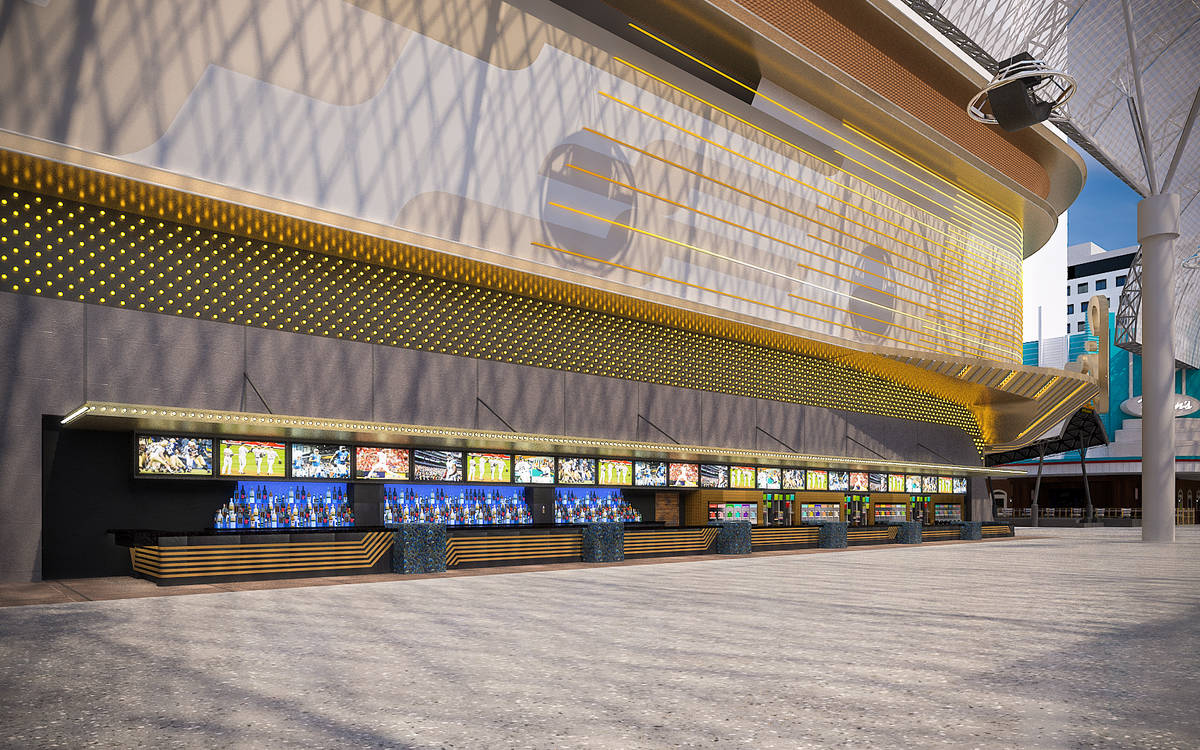A rendering of Circa Bar, set to open Oct. 28 at Circa Las Vegas. (Circa Las Vegas)