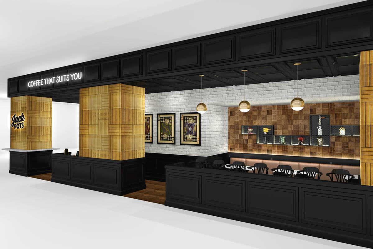 A rendering of Jack Pots, set to open Oct. 28 at Circa Las Vegas. (Circa Las Vegas)