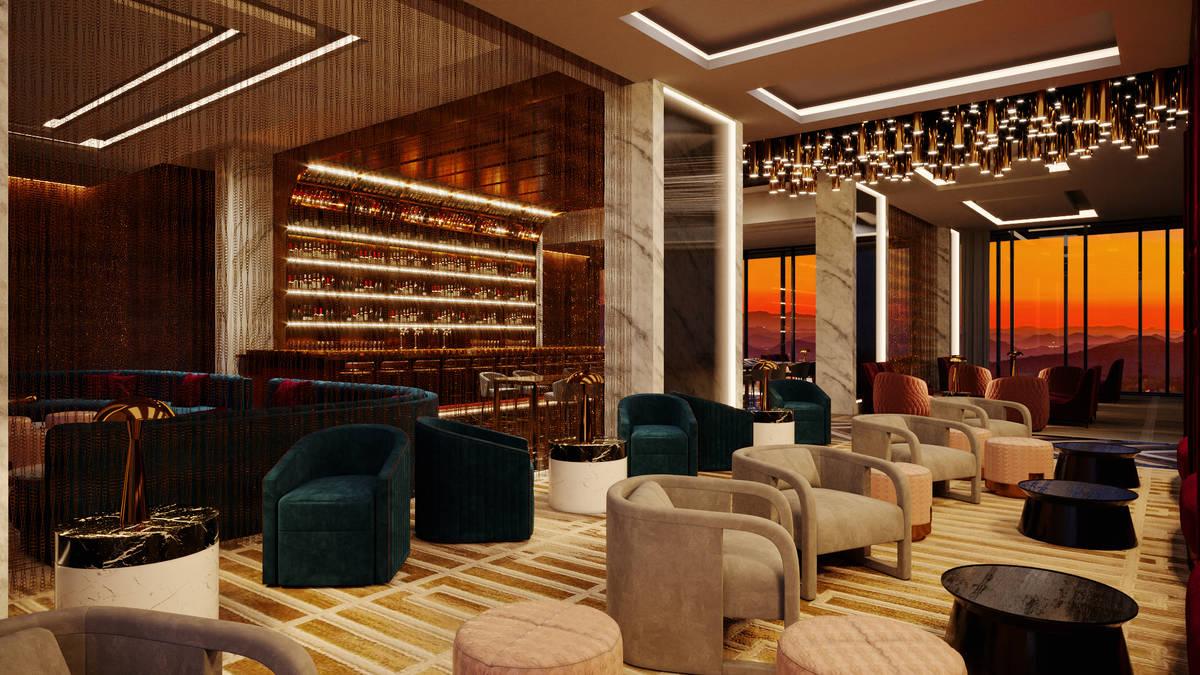 A rendering of Legacy Club at Circa Las Vegas, set to open in December. (Circa Las Vegas)