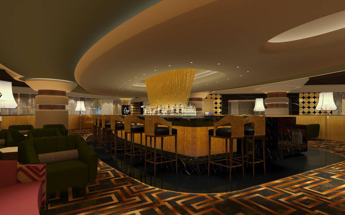 A rendering of Vegas Vicki's, set to open Oct. 28 at Circa Las Vegas. (Circa Las Vegas)