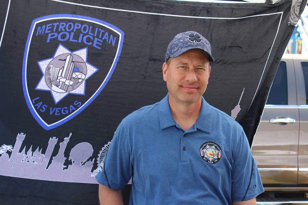This March 31, 2019, file photo shows Metropolitan Police Department Lt. Erik Lloyd in Sunset P ...