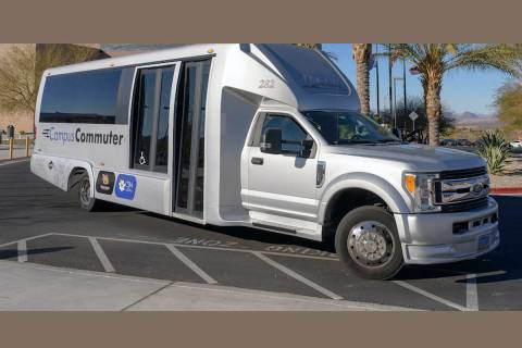 The Campus Commuter with branding on Tuesday, February 4, 2020. (College of Southern Nevada)